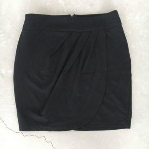 Forever 21 Black Tulip Skirt